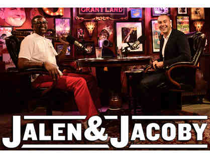 Attend a Jalen & Jacoby Radio Show and Podcast