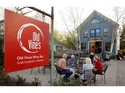 $75 Gift Certificate to Old Vines Wine Bar
