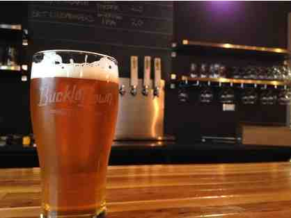 BuckleDown Brewery Tour - Private / Exclusive, Tasting and Fun Items