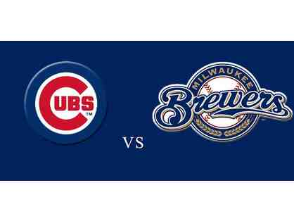 CUBS vs Milwaukee Brewers; Tuesday Sept 11 - 4 Tickets