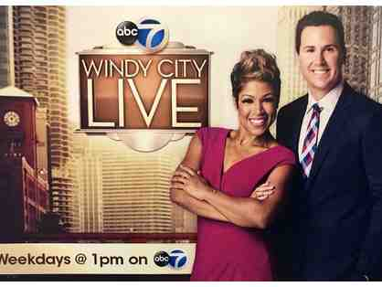 Experience Behind-The Scenes at Chicago's Only Live Television Show - WINDY CITY LIVE
