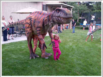 Invite a Dinosaur to Your Next Party
