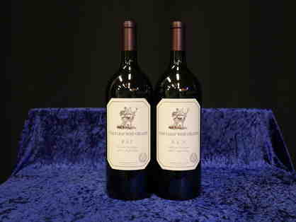 2 Magnums 2015 Estate Cabernet Sauvignon, Stag's Leap Wine Cellars, Napa
