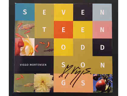 SEVENTEENODDSONGS - CD Signed by Viggo Mortensen
