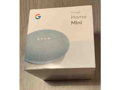 Google Home Mini Smart Speaker - Aqua - Brand New Sealed