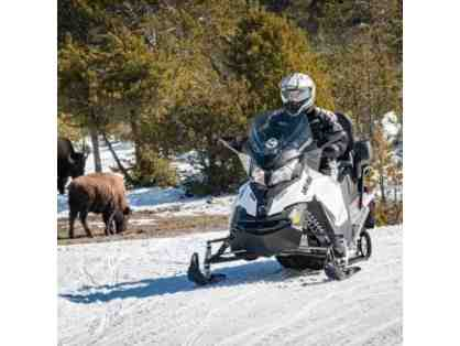 Yellowstone Old Faithful Snowmobile or Snowcoach Tour for 2 people