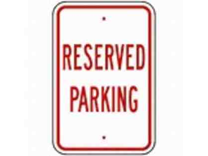Parking spot to the Spring Concert