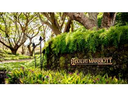 KAUA'I MARRIOTT RESORT - THREE NIGHT STAY W/ OCEAN VIEW, BREAKFAST FOR TWO, AND RESORT FEE