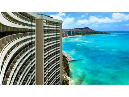 SHERATON WAIKIKI - THREE NIGHT STAY W/ OCEAN FRONT W/ SELF-PARKING AND RESORT FEES