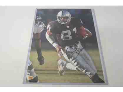 Tim Brown Oakland Raiders Autographed Photo