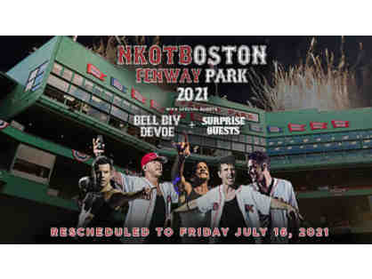 New Kids on the Block at Fenway - Friday, July 16, 2021