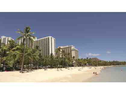 Waikiki Beach Marriott Resort & Spa- 4 nights in an Ocean View Room