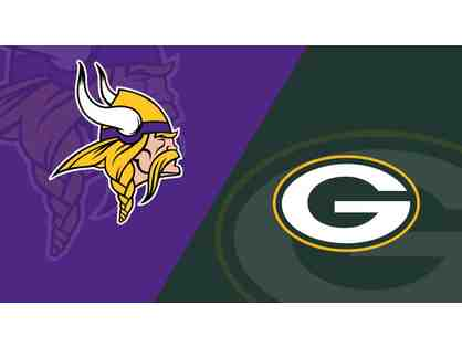 Vikings vs. Packers at U.S. Bank Stadium - LIVE AUCTION