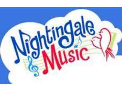8 week Music & Movement Session for Infant, Toddler or Preschooler at Nightingale Music