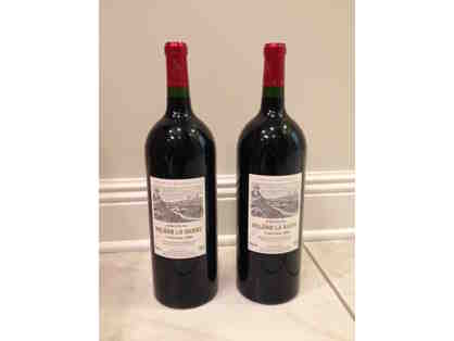 Two (2) Magnum-size Bottles of Wine + $50 Gift Card to New Orleans Hamburger & Seafood Co.