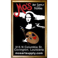 Sponsor: Mo's Art Supply & Framing