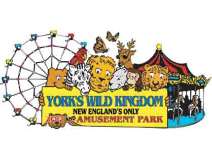 4 passes for York's Wild Kingdom - Zoo & Ride package