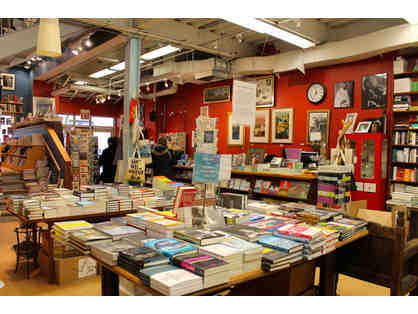 $50 Gift Certificate to Book Culture