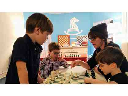 Private In-Home Chess Lesson with a Certified Chess at Three Tutor