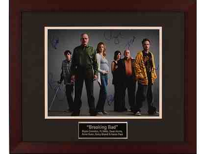 Breaking Bad Cast Photo (signed)