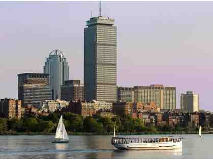 Charles Riverboat Cruise around Boston