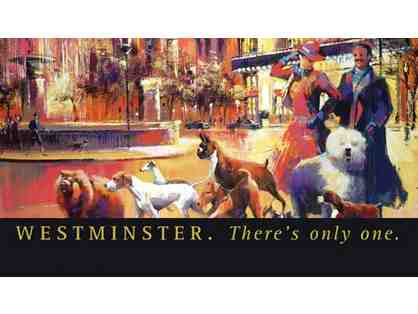 Two tickets to 2015 Westminster Dog Show PLUS a two-night hotel stay in Manhatten!