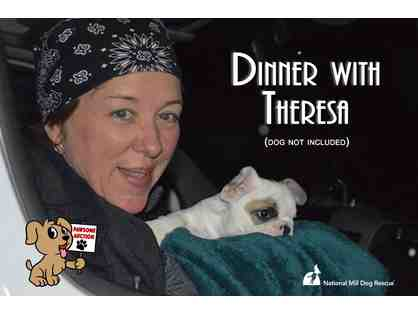 Dinner with Theresa Strader!