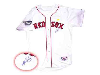 David Ortiz Hand-Signed Official Red Sox Game Jersey