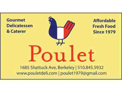 Poulet - $50 gift card