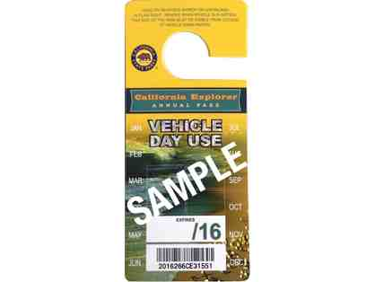 Raffle Ticket - California Explorer Vehicle day pass