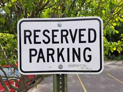 LIVE AUCTION - Reserved Parking Spot at OK
