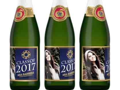 Congratulate your PCS graduate with a case of personalized Martinelli's!