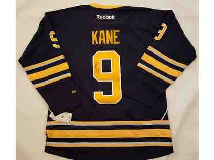 Buffalo Sabres Jersey autographed by Evander Kane