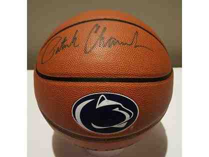 Basketball autographed by Penn State Head Coach Patrick Chambers