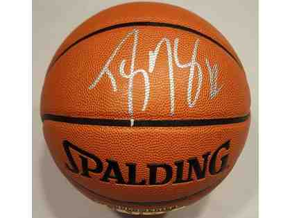 Dwight Howard Autographed NBA Basketball