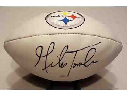 Mike Tomlin Autographed Steeler Football