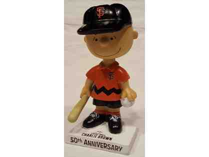 Charlie Brown as San Francisco Giant Bobblehead