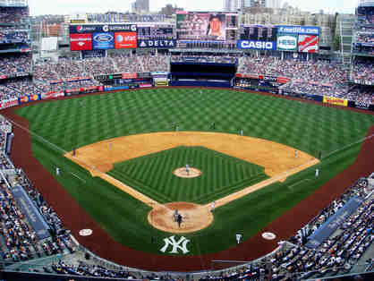 Package Trip to New York to see the Yankees for 4 People