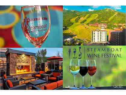 AUGUST 11-13, 2016 Steamboat Wine Festival Tickets