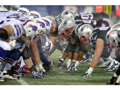 Four (4) tickets to the New England Patriots vs. Buffalo Bills at Gillette Stadium
