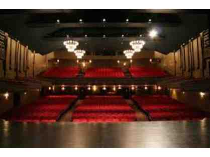Two Tickets to a Performance during 19'-20' McCarter Theater Center Series - Princeton, NJ