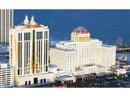 One-Night Deluxe Accommodations to Resorts Casino Hotel - Atlantic City, New Jersey