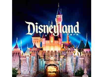Disneyland and California Adventure - 4 One Day Park Hopper Tickets