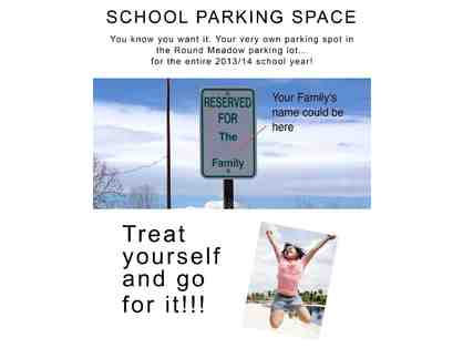 R.M. Exclusive - Parking Space at School for the 2018-2019 School Year!
