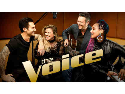 The Voice - Two VIP Seats to Taping