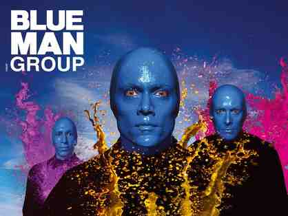 2 Tickets to Blue Man Group