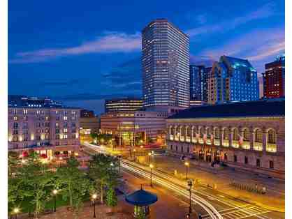 THE WESTIN COPLEY PLACE BOSTON - One (1) Night Stay & Breakfast for Two (2) & Health Club