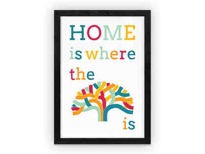 """Home is where the Oak is"" art print by Shane Donahue"