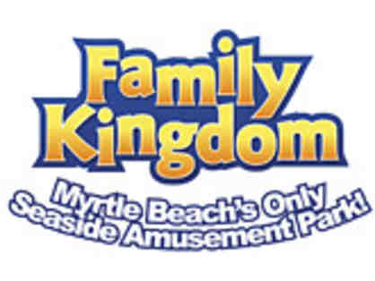 2 VIP Passes to The Family Kingdom Amusement Park in Myrtle Beach