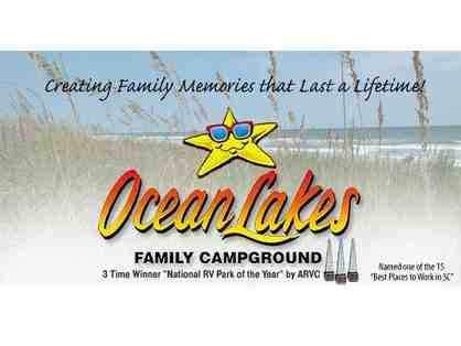 2 Nights stay at a Campsite at Ocean Lakes Family Campground
